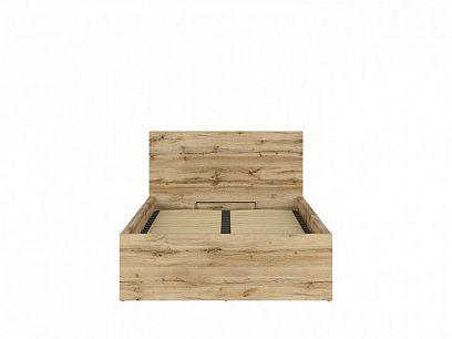 TETRIX postel s roštem LOZ/120/B, dub wotan