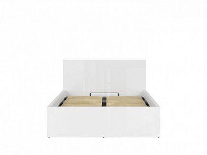 TETRIX postel s roštem LOZ/140/B, bílý lesk