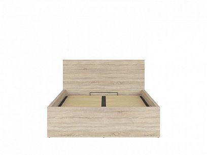 TETRIX postel s roštem LOZ/140/B, dub sonoma