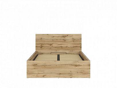 TETRIX postel s roštem LOZ/140/B, dub wotan
