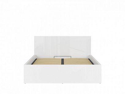 TETRIX postel s roštem LOZ/160/B, bílý lesk