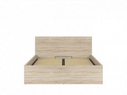 TETRIX postel s roštem LOZ/160/B, dub sonoma