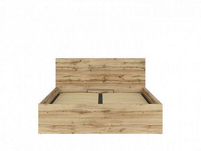 TETRIX postel s roštem LOZ/160/B, dub wotan