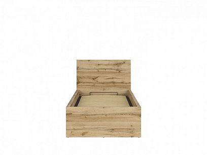 TETRIX postel s roštem LOZ/90/B dub wotan