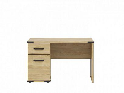 LARA psací stůl BIU1D1S, jasan běloruský