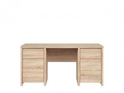 Kaspian psací stůl BIU2D2S/160, dub sonoma