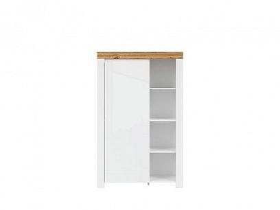 HOLTEN regál REG1D/150, bílá/dub wotan/bílý lesk