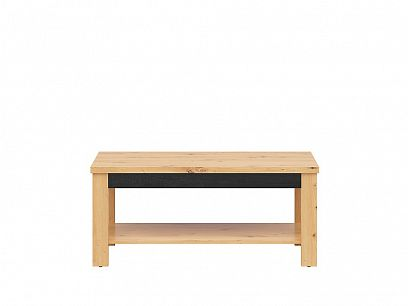 OSTIA konferenční stolek LAW/120, dub artisan/černý lesk