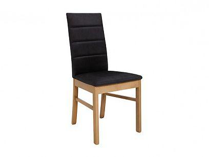 OSTIA jídelní židle, dub přírodní/černá