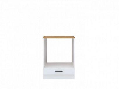 Junona skříňka na troubu DPK/60/82, bílá/bílý lesk