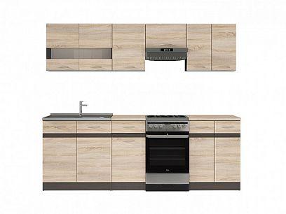 Kuchyň Junona Modul 230, wenge/dub Sonoma