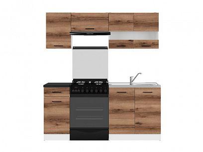 Kuchyň Junona Modul 180, bílá/dub delano tmavý