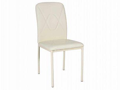 H-623 Jídelní židle, béžová /ekokůže krémová/champion