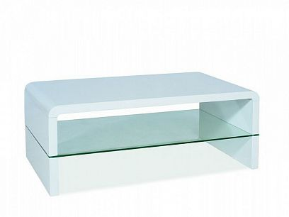 Rica Konferenční stolek, bílý lesk