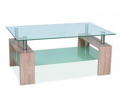 Lisa II Konferenční stolek dub sonoma
