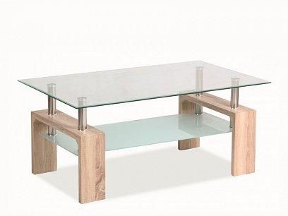 Lisa Basic Konferenční stolek, dub sonoma