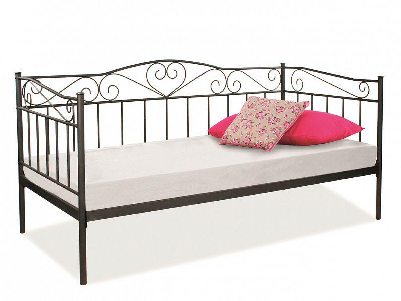 9d7a406e8f73 Birma Kovová postel 90
