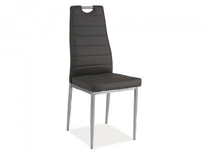 H-260 jídelní židle, šedá
