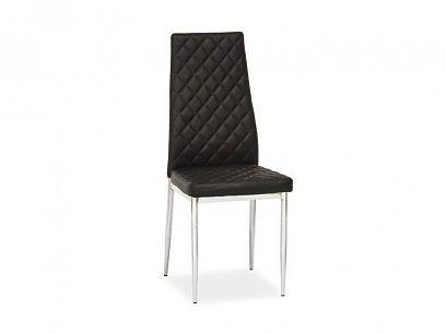 H-262 Jídelní židle, černá