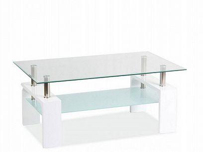 Lisa Basic II Konferenční stolek, bílá