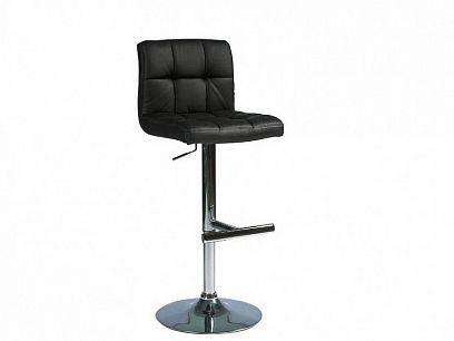 C 105 Barová židle, Černá