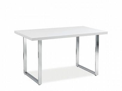 Ring Jídelní Stůl, bílý lesk