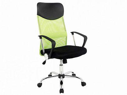 Q-025 Kancelářská židle, zelená