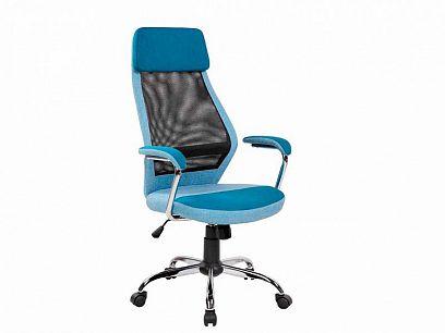 Q-336 Kancelářská židle, modrá