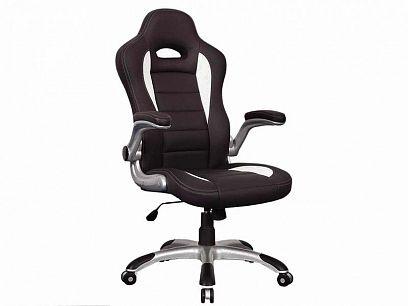 Q-024 Kancelářská židle, černá/bílá
