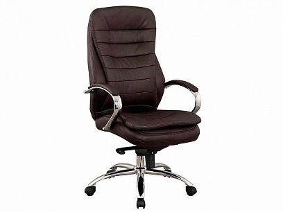 Q-154 Kancelářská židle, hnědá ekokůže