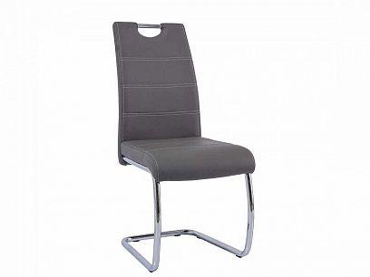 H-666 Jídelní židle, šedá