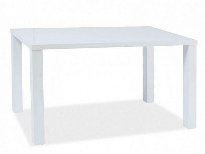 Montego Jídelní stůl 120, Bílý vysoký lesk