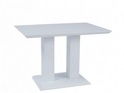 Tower Jídelní stůl 110, Bílý vysoký lesk