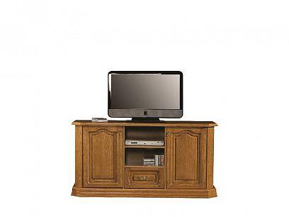 KOLUMBUS RTV B televizní stolek, dřevo dub