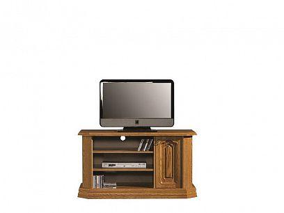 KOLUMBUS RTV C televizní stolek, dřevo dub