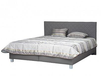 REFLEX manželská postel  180 cm, hnědošedá