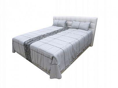 MONTECARLO manželská postel 180, bílá/šedá