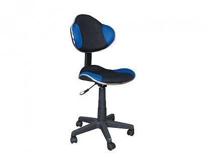 Q-G2 - kancelářská židle modrá/černá