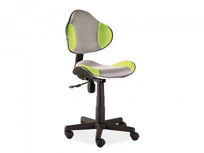Q-G2 kancelářská židle, šedá/zelená