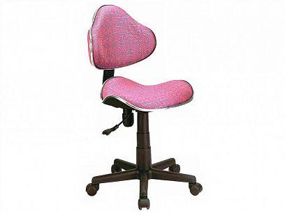 Q-G2 Dětská židle, růžová/vzor