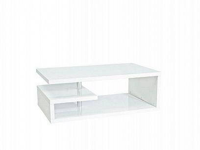 Tierra konferenční stolek, bílá