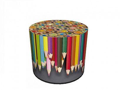 Colours Taburet, pastelky