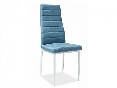 H-266  jídelní židle, denim modrá