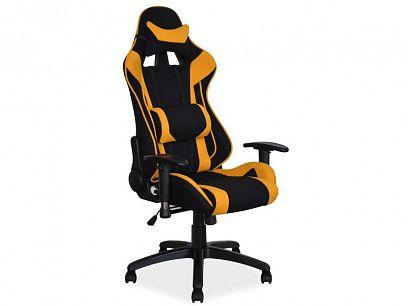 VIPER kancelářské křeslo, černá/žlutá