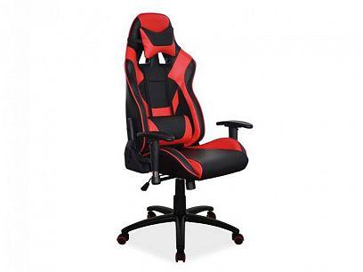 SUPRA kancelářské křeslo, černá/červená