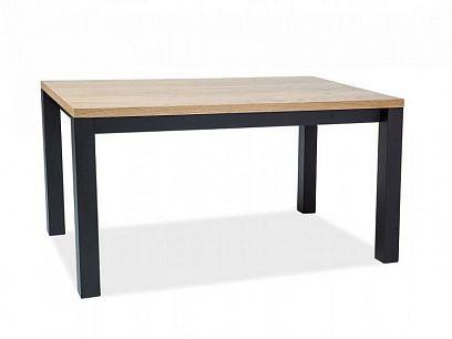 INTERNAL 150 Jídelní stůl, dub/černá