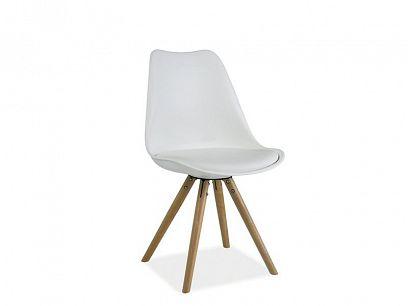 ELVIS jídelní židle, bílá