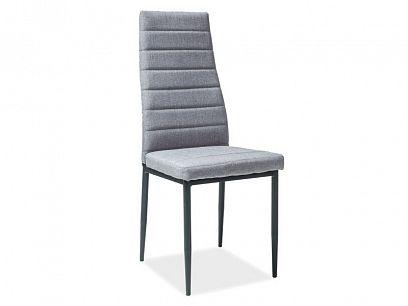 H-265 jídelní židle, šedá/černá