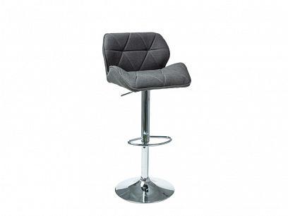 C-122 barová židle, tmavě šedá