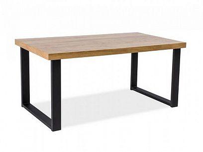 UMBRELA jídelní stůl, dub/černá